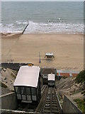 SZ0990 : East Cliff Lift by JThomas