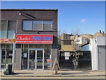 TQ3075 : Charlie's Fish Bar, Bedford Road, SW4 by Mike Quinn