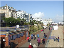 TV6198 : Eastbourne seafront by Malc McDonald