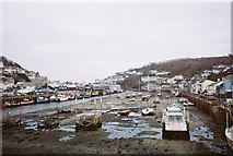 SX2553 : East Looe Harbour by Trionon