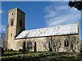 TG0336 : Sharrington All Saints' church by Adrian S Pye