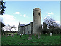 TG0535 : Stody St Mary's church by Adrian S Pye