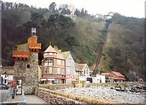 SS7249 : Lynmouth Pier and Cliff Railway by Humphrey Bolton
