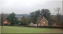 TQ2151 : Kemp's Farm Cottages by N Chadwick