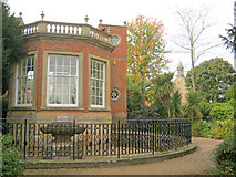 SK6464 : The orangery at Rufford Park by Trevor Rickard