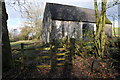 ST3597 : Old stone-built barn by Philip Halling