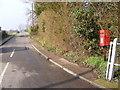 TM3481 : Malt Office Lane & Malt Office Lane Postbox by Geographer
