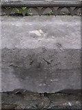 SH4862 : Rivet benchmark on Tithe Barn Street, Caernarfon by Meirion