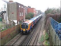 SU4212 : Railway lines seen from St Mary St. Bridge, Southampton by Gareth James
