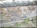 SJ3971 : Cut Mark: Railway Bridge, Lea by Backford by VBForever