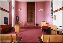 TQ3179 : St Mary, Lambeth Road, Lambeth by John Salmon