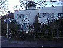 TQ1372 : Art  deco house Rivermead Avenue by David Howard