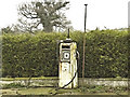 TM3465 : Disused fuel pump at Grange Farm, Rendham by Adrian S Pye