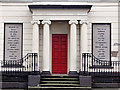 J0858 : Old doorway, Lurgan by Albert Bridge