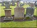 NS3804 : Thomas McHaffie's gravestones by Becky Williamson