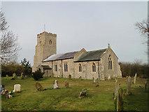 TF9624 : Gateley St Helen's church by Adrian S Pye