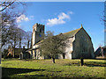 TF9434 : Great Snoring St Mary's church by Adrian S Pye