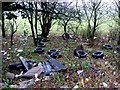 SO9979 : Fly Tipping on Egg Hill by Nigel Mykura