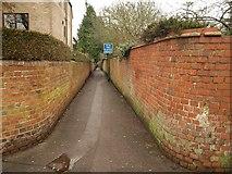 SU6351 : Path, Cliddesden Road by Derek Harper