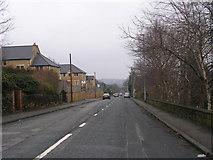 SE2333 : Hough Side Road - viewed from near Cavendish Rise by Betty Longbottom