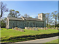 TF9320 : Stanfield St Margaret's church by Adrian S Pye