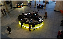 TQ2779 : Entrance hall and information desk - V & A Museum by Anthony O'Neil