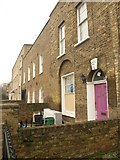 TQ3581 : Terraced houses, White Horse Lane by Derek Harper