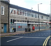 SS7597 : Central post office, Neath by Jaggery