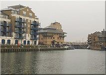 TQ3680 : Limehouse Basin by Derek Harper