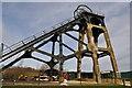 SK4964 : Pleasley Colliery - Northern Shaft by Ashley Dace