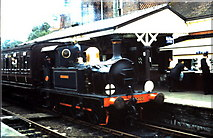 TQ4023 : P class 0-6-0T at Sheffield Park by Gordon Spicer
