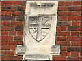 TQ3272 : Date stone on Lovelace Road church hall by Stephen Craven