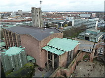 SP3379 : Coventry Cathedral by Chris Allen