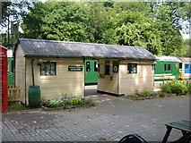 TR2548 : East Kent Railway - Shepherdswell Booking Office by Helmut Zozmann