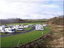 SD7912 : Caravan site at Burrs Country Park by Raymond Knapman