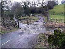 SK0851 : Ford at Back O' Th' Brook by Gordon Brown
