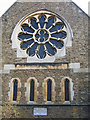 TQ1974 : Christ Church, East Sheen: west window by Stephen Craven