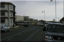 TQ7407 : Bexhill-on-Sea: the De La Warr Pavilion from West Parade by Christopher Hilton