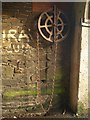 SX4759 : Pulley and chain, Woodland Fort by Derek Harper
