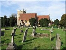 SK8354 : All Saints' Church,  Coddington, Nottinghamshire by Derek Voller