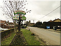 TF6615 : Middleton village sign in School Road by Adrian S Pye