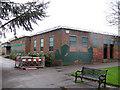 TQ4177 : Hornfair Park: Lido (south-east corner) by Stephen Craven