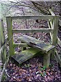 TM3763 : Stile on the footpath to Grove Farm & the B1119 Rendham Road by Adrian Cable