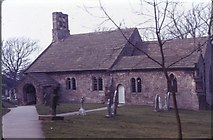 SD4161 : St Peter's Church (in 1974) by David Smith