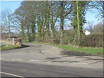 NZ2421 : Humble Carr Lane leading from Walworth Road by peter robinson