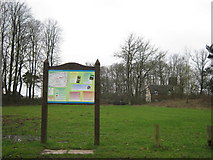 SP0575 : Information Board, Forhill Picnic Site by Michael Westley