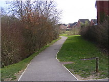 TM3763 : Footpath to Felsham Rise by Adrian Cable