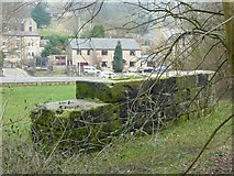 SD9126 : Remains of Vale Mill, Todmorden by Humphrey Bolton