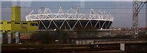 TQ3783 : Olympic Stadium by John Salmon