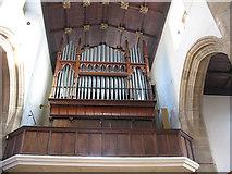 TQ3871 : St John's church: organ by Stephen Craven